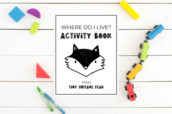 Animal Habitats Activity Book Printables for Kids from Tiny Humans Read