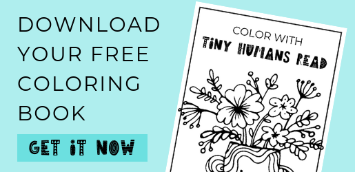 Free Coloring Book from Tiny Humans Read