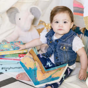 Tiniest Human Box Tiny Humans Read Book Box for Kids