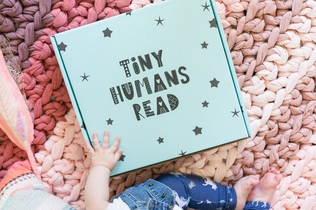 Home | Tiny Humans Read subscription box for kids