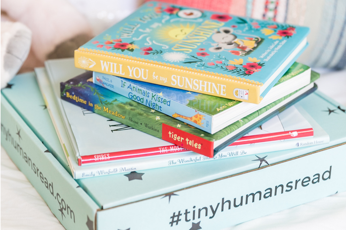 Tiny Humans Read Book Box for Kids