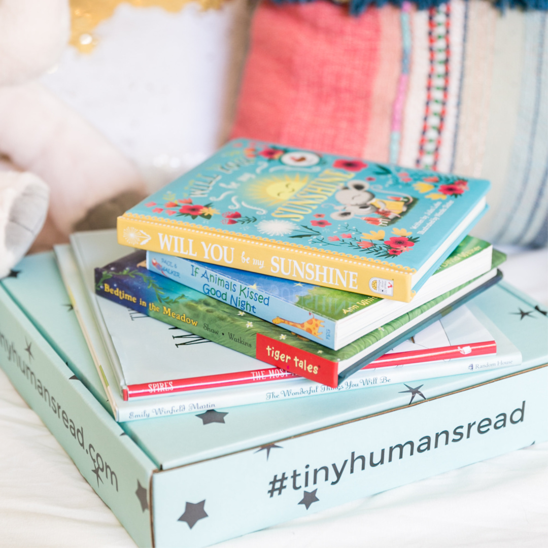 Tiny Humans Read Book Box for Kids - Book of the Month for Kids - Children's Book Club