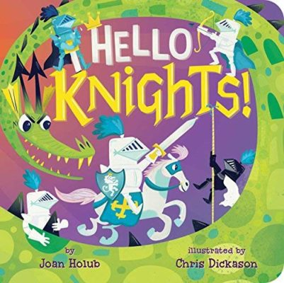 Hello Knights - Books from Past Boxes of Tiny Humans Read Kids Book Subscription Box